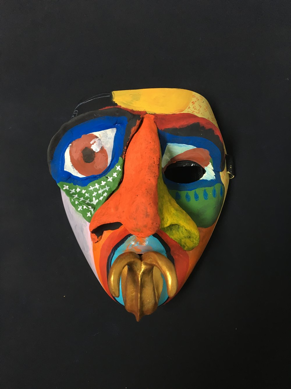 The finished Mask