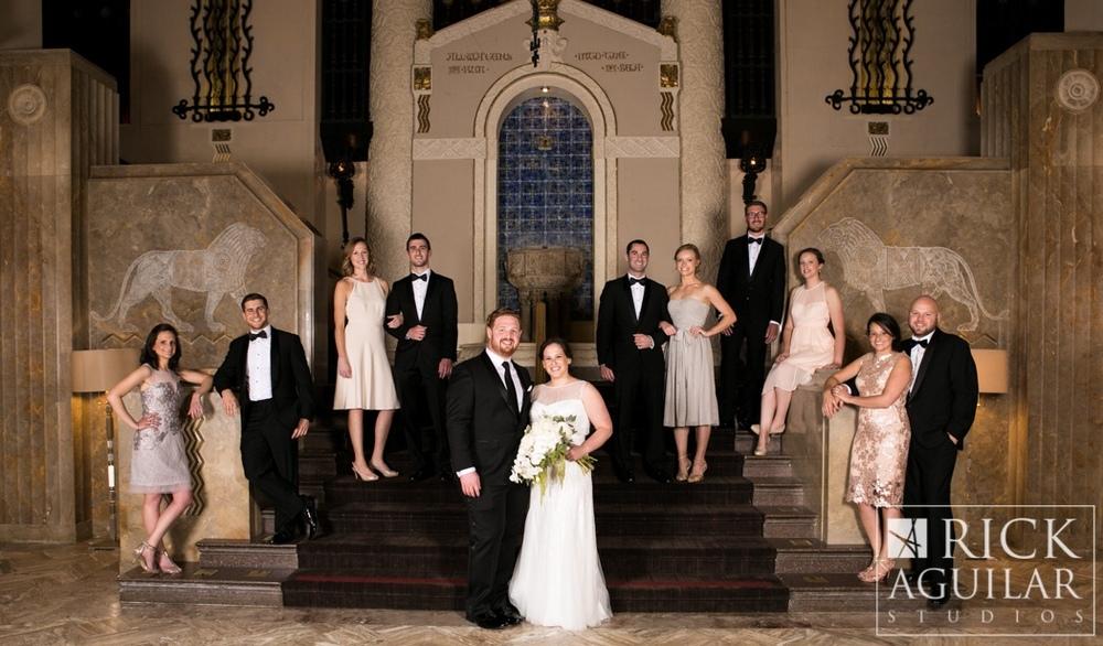 Beautiful Bridal Party #intercontinentalchicago  ©Rick Aguilar Studios