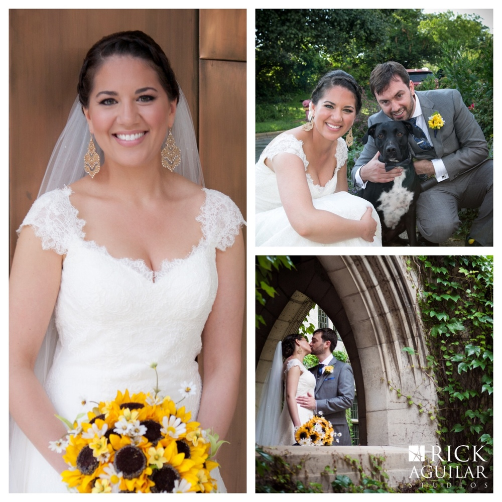 Suzanne and Nick got married at Fourth Presbyterian and celebrated at the Ravenswood Event Center in July 2015.     Clare Britt for ©Rick Aguilar Studios     #fourthpresbyterian #ravenswoodartcenter  #rickaguilarstudios