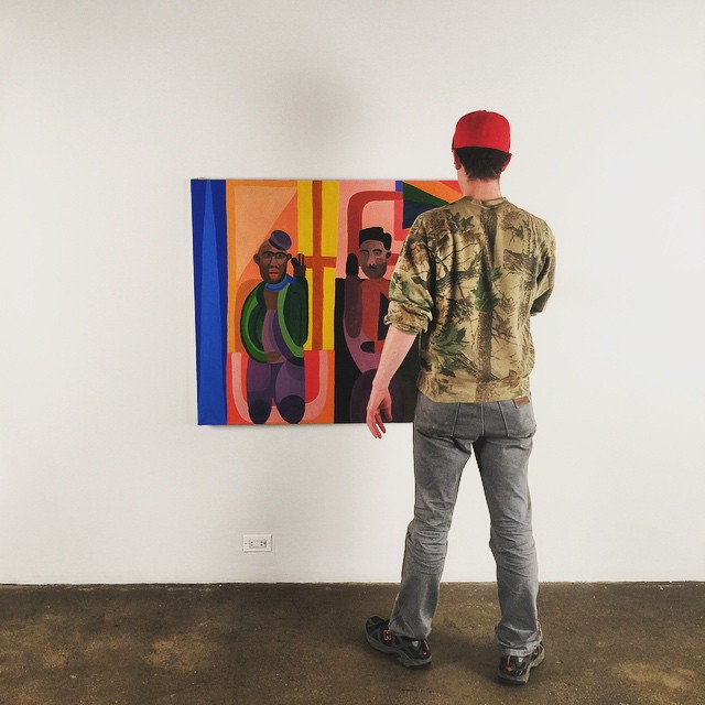 Alex Bradley Cohen handled by Carmen Price at Secrist Gallery
