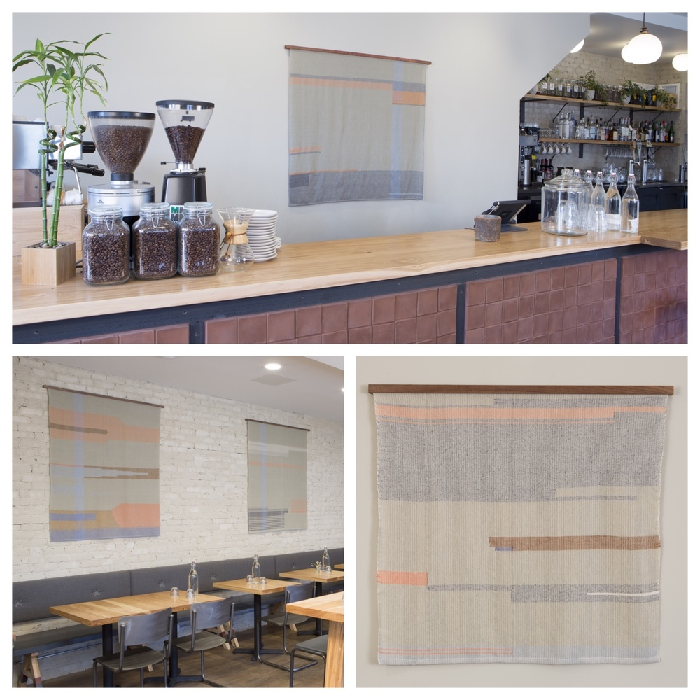 I got to photograph Dee Clements recent weavings on view at The Winchester. Stop by for an in person look and stay for a snack!      http://www.herronclothier.com/      http://www.winchesterchicago.com/     © Clare Britt Photo