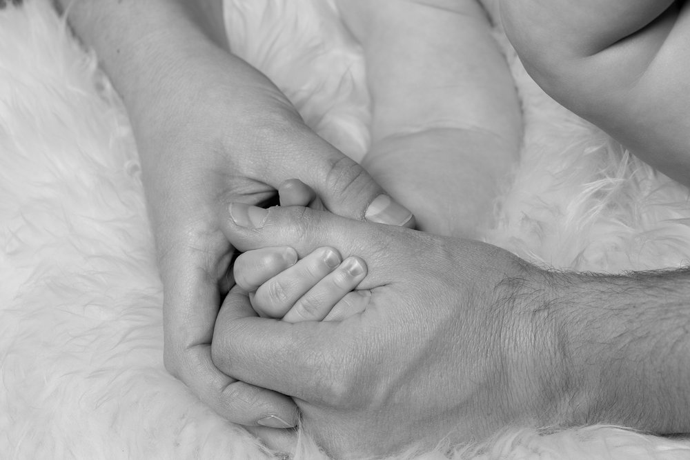 Holding Hands Chicago Family Session Photography