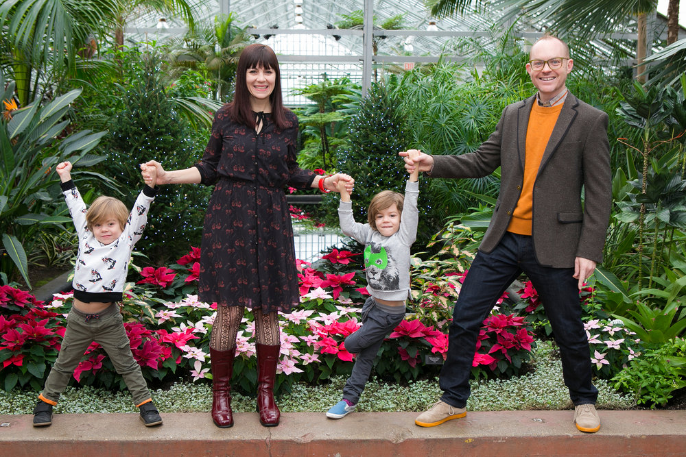 Family Photography Session Garfield Park Conservatory Chicago