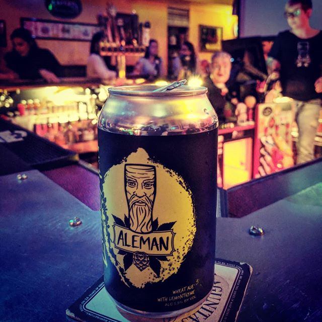 In addition to picking up some #alemancans for your St. Patty's/March Madness festivities, you can show your support with a #voteforaleman in @thehopreview 2018 Chicago Brewery Bracket Challenge.  Vote early. Vote often. Vote Aleman.  http://thehopreview.com/blog/thrs-chicago-brewery-bracker-r2-north-2018