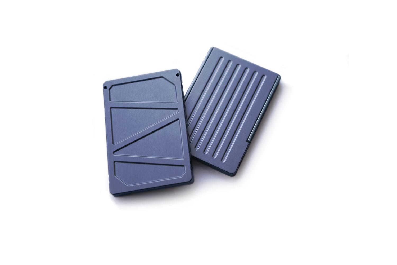 Lioe design titan business card holder minimalist wallet rfid blocking colourmoves