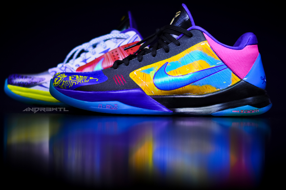 What The Kobe V (Left Side)