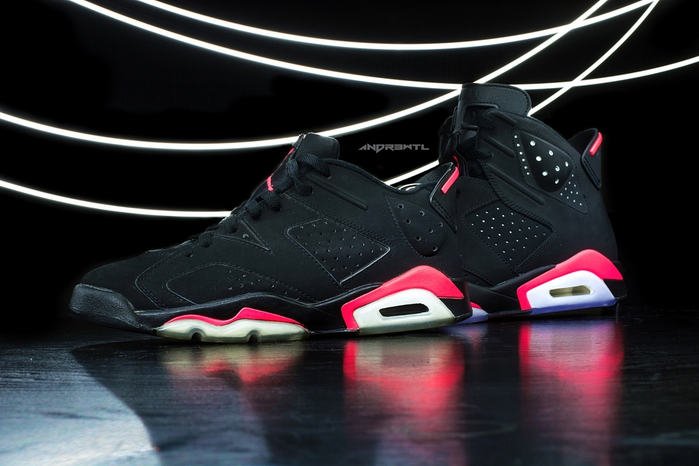 Black Infrared 6 Low