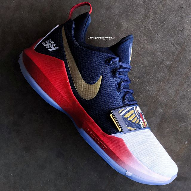 Waited to share these until @solohill made his season debut in them last night. Easily one of my Top 3 favorite PG1s Ive created for him over this season. #whatsyourflavor