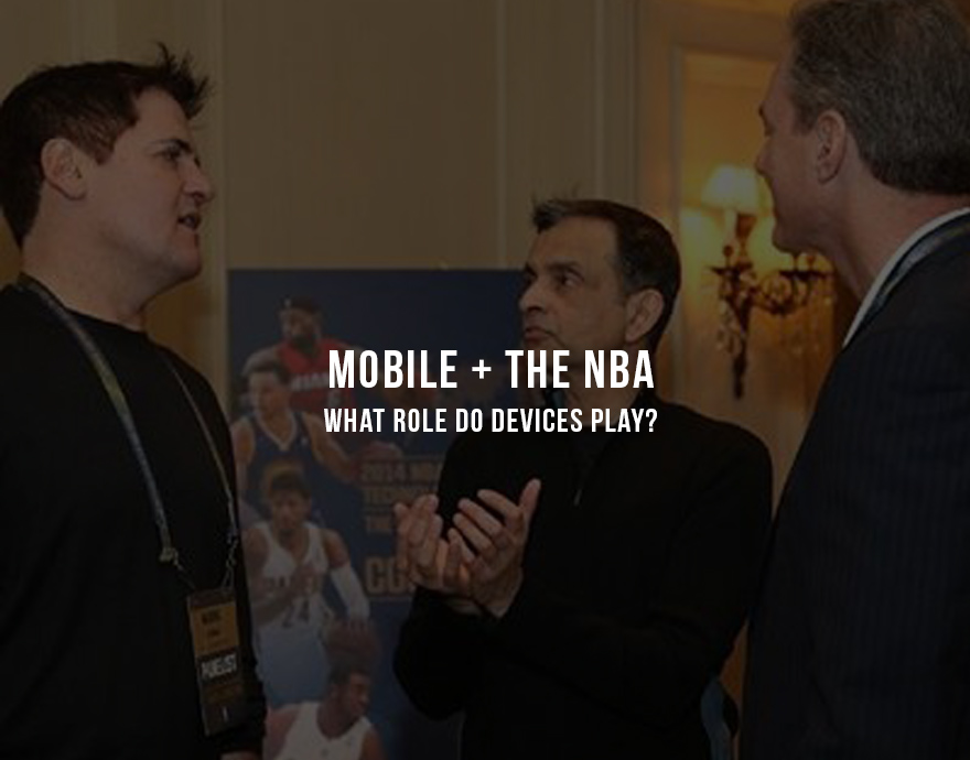 "Mobile and the NBA      Something's brewing in the NBA between Sacramento Kings owner, Vivek Ranadive, and Dallas Mavericks' owner, Mark Cuban. No, it's not about King James and the MVP Race or David Stern's retirement. Believe it or not, they're bickering about the use of mobile technology during live NBA games.   Ranadive, who purchased the Kings in May 2013, believes that mobile will  enhance the experience  of being in an arena during a live NBA game. He noted,       ""The future is about giving people an extremely contextual experience…people love to play games and they love to participate.""           Ranadive believes an in-game app, like the one at the  Barclays Center  in Brooklyn, enhances the experience, rather than disrupts it. The Barclays Center's new mobile Wi-Fi system allows fans to access game information, with future versions including the ability to order concessions from your phone. Ranadive said,      ""I completely reject the notion that a fan looking at his mobile device is not an engaged fan…I want to know play-by-play, I want to know every metric.""      On the other side of this debate is longtime Mavericks owner, Mark Cuban. Cuban wants nothing more than to see fans put their phones away and become immersed in the game. Cuban said,      ""No question people use their phones and devices at games…but they use them when they are bored. They don't want more reasons to use them. They want fewer.""           A new study on stadium Wi-Fi habits , commissioned by the NFL, discovered that the busiest period of mobile use during a game comes at the beginning and mobile use slowly decreases during the game.  Most of that mobile activity is not looking at the play-by-play or statistics; rather, it's photo uploading through Facebook.  Maybe Cuban is right. But then again, mobile apps catered to the in-game experience are not widely available yet and the lack of in-game use may be due to a lack of availability.   I do know that when I'm at home, watching the game, I'm using multiple devices at the same time. But, when I'm at a live NBA game, I rarely take my phone out. Why would I? I just paid a ridiculous price for a ticket.    Final Thoughts  In reality, both owners are right. NBA fans are a diverse group of people. Some would love the extra features of being able to look up stats and figures related to the game. Others would find it distracting, and would prefer to keep the phone in their pocket. The real key here is giving those fans who prefer the mobile experience, a great app that meets their needs. Cuban needs to step into the 21 st  century and reach out to Mavericks fans that fall into this group.    Regardless, I'm a Knicks fan; so I'd rather not look at the game anyway…"