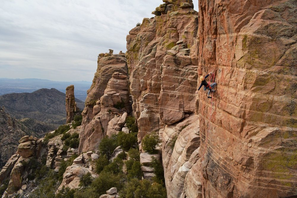 Arizona Flyways 5.11a - Mt. Lemmon    Photo: Todd Bukowski   @tc.bukowski