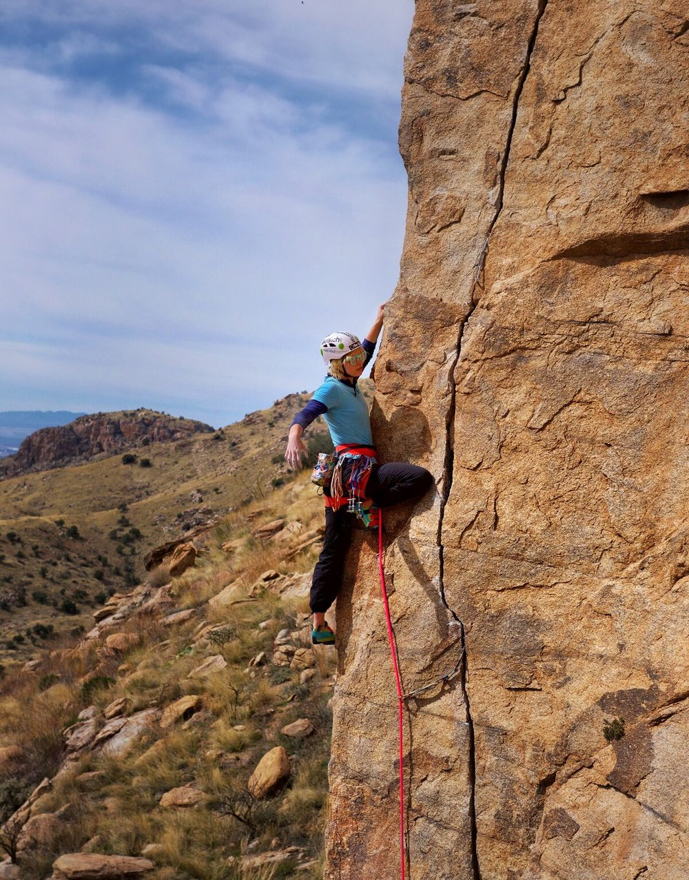 Sunspot Crag - Mt. Lemmon Photo: Todd Bukowski @tc.bukowski