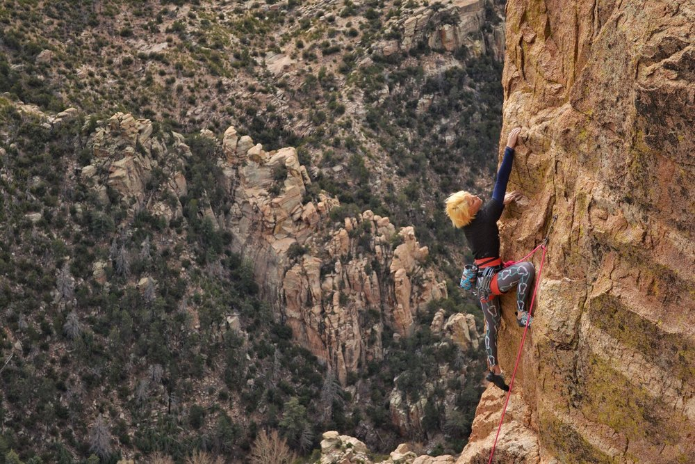 Miss Adventure 5.10 - Mt. Lemmon Photo: Todd Bukowski                                                                                                             @tc.bukowski