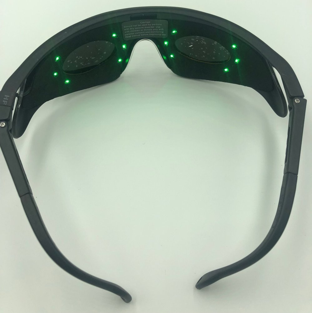c955a346813 New! MindSpa PureGreen Pain Reduction and Sleep Enhancement Glasses ...