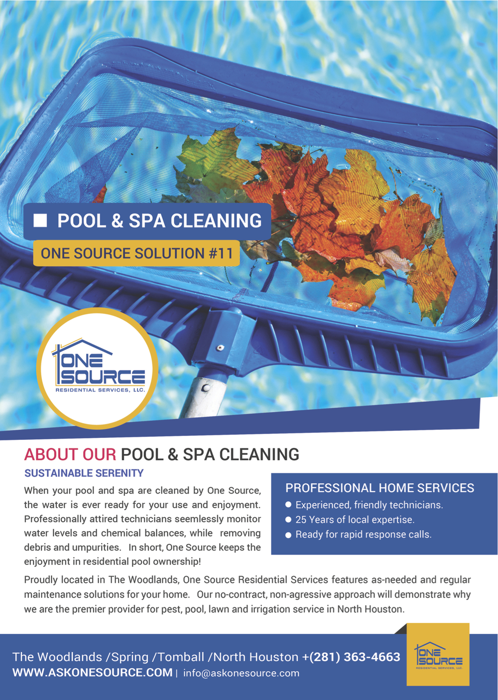 Pool Cleaning The Woodlands