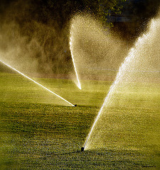Fall Lawn Irrigation For Spring. Texas