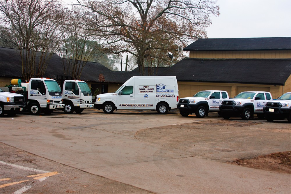 Pest Control Vehicles In The Woodlands, Texas