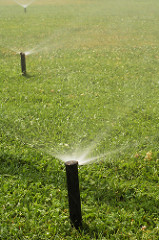 Lawn Sprinklers The Woodlands, Texas