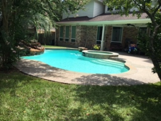 Clean Pool In The Woodlands, Texas