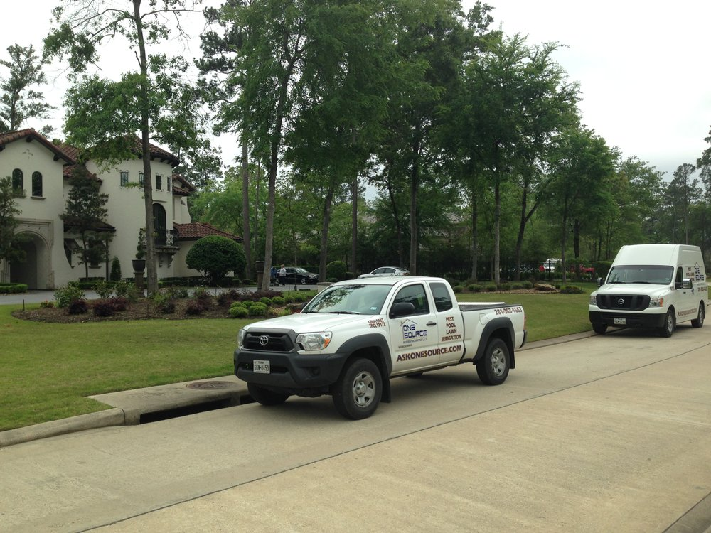 Lawn Care Truck The Woodlands, Texas