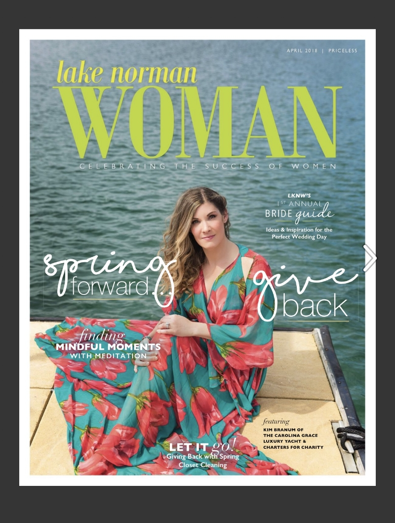 Lake Norman Woman, April 2018 -