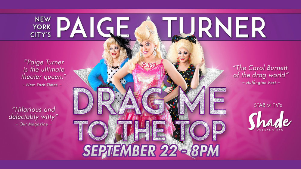 paige turner drag me to the top - fall series 2018