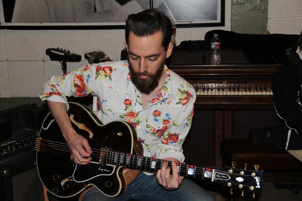 Matt Ross-Spang playing Scotty's custom Gibson!