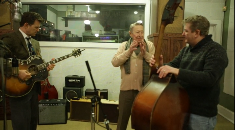 Scotty Moore Producing the band!