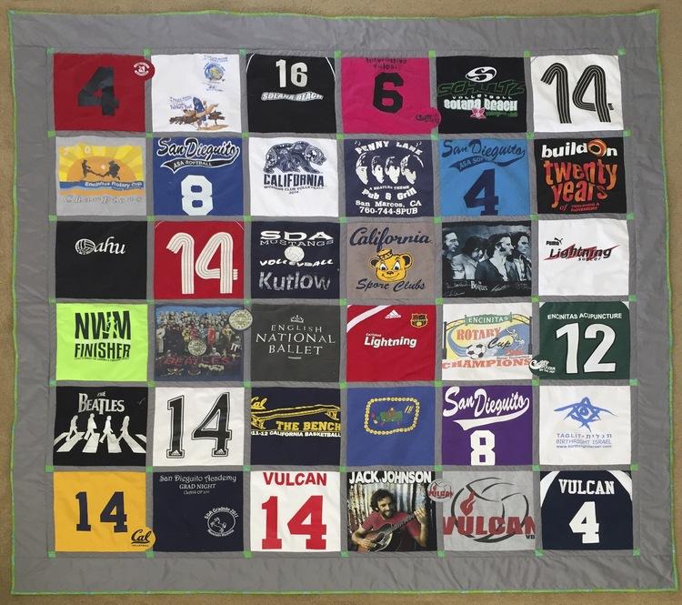 Jersey Quilt — Megan Makes it : jersey quilt - Adamdwight.com