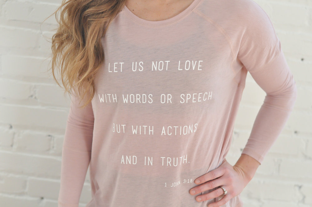 love in action long sleeve