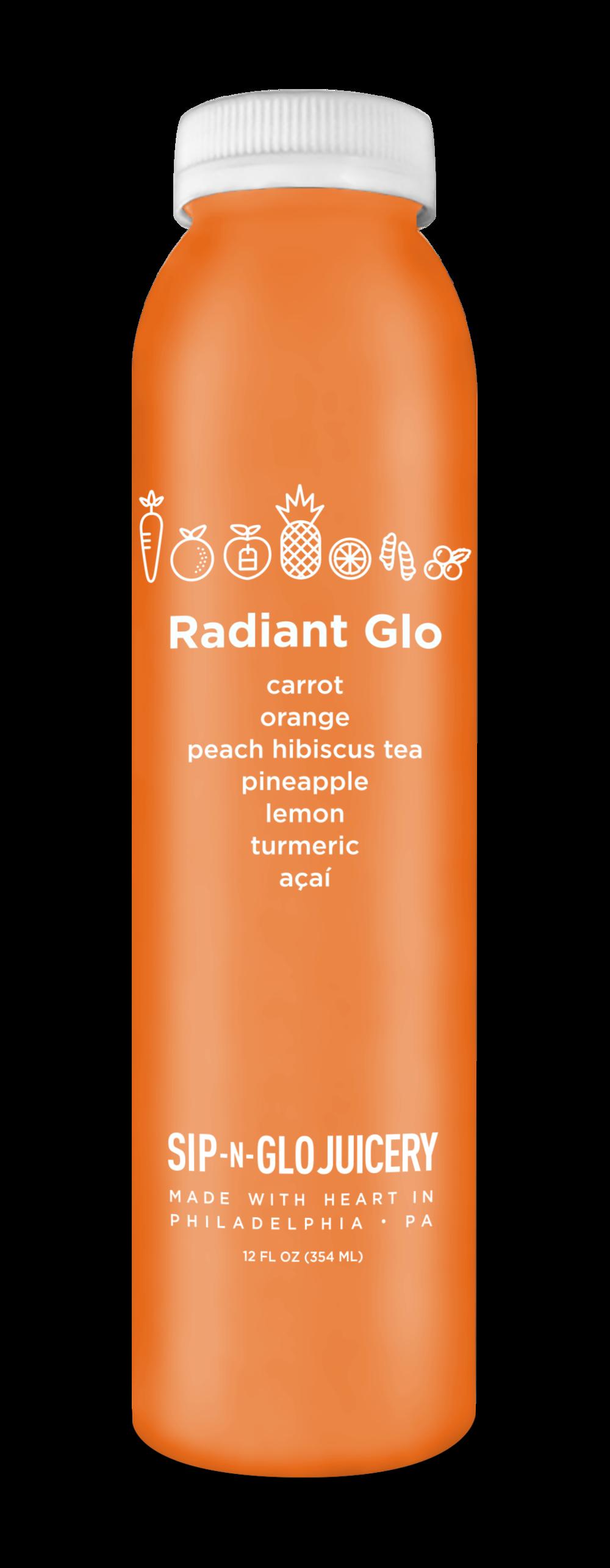 Sip-N-Glo Cold-Pressed Juice Radiant Glo