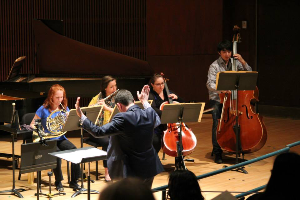 Performing Ligeti's Aventures and Nouvelle Aventures with members of Seraphic Fire and Roomful of Teeth.