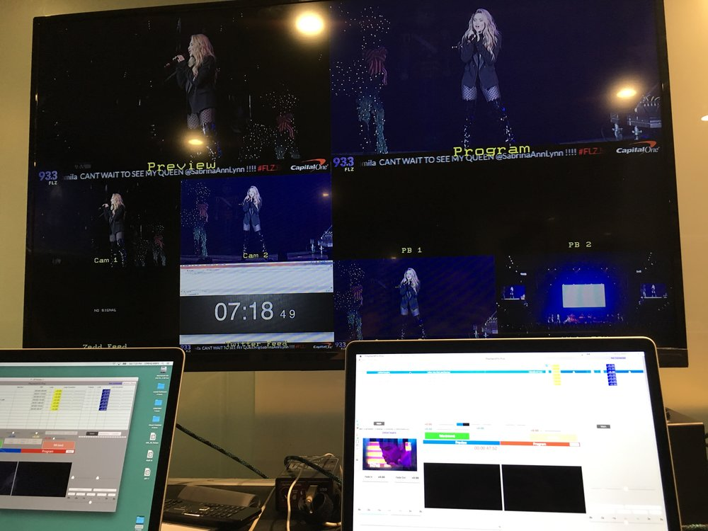 iHeartRadio Jingle Ball Tampa - Video Playback Operator, set up and assist with set-up and strike of video gear