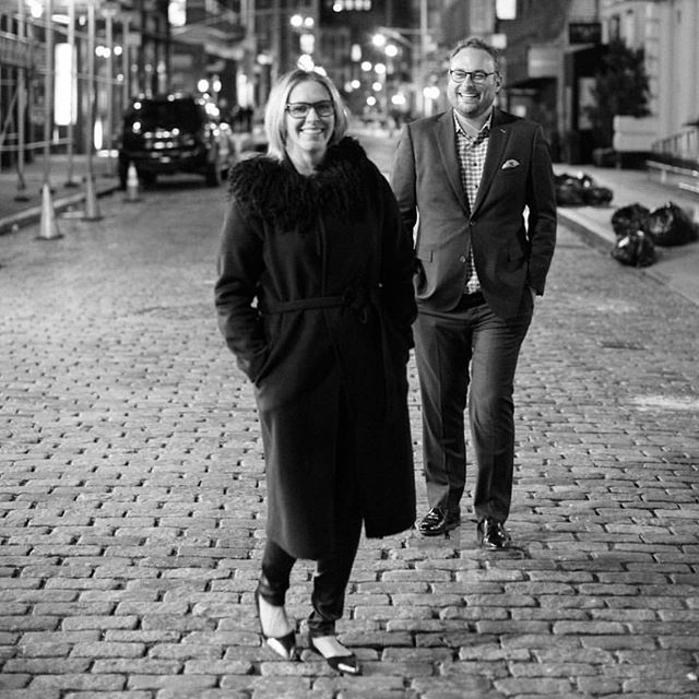 going through old photos and found this gem of me and @alisonrinderknecht on the streets of NY at 2am. thanks @tecpetaja for the great capture. 🖤