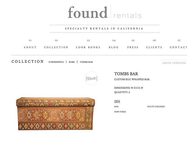 when they name a bar after you!! thank you @foundrentals @jewelatfound for being such incredible creative partners and helping me bring my crazy ideas to life! ✨
