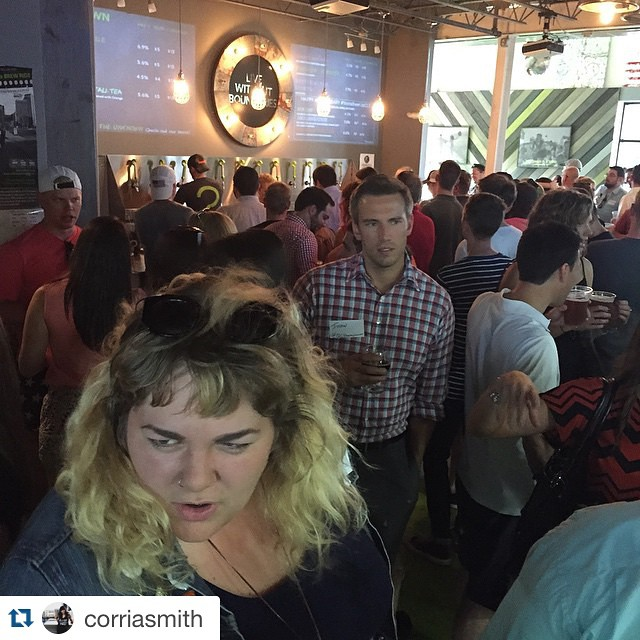 Happy 1yr anniversary 🎉 @corriasmith with @repostapp. ・・・ #instabeerupclt. It's about to get weird.