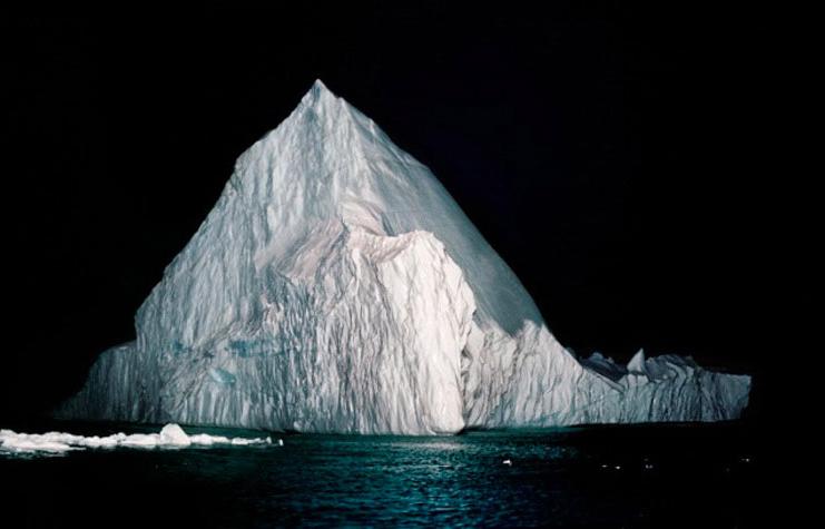 Ilulissat S010Greenland.Digital C-print. 48 x 62 inches, 2007.