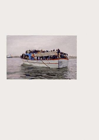 29 de marzo, o una embarcación con decenas de emigrantes a bordo que pudieron ser rescatados de tres barcos naufragados ante las costas líbias