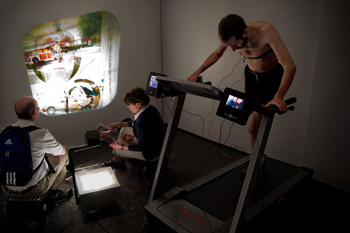 After-Klang and the Excise of Time, Performance at Y Gallery, 2010.