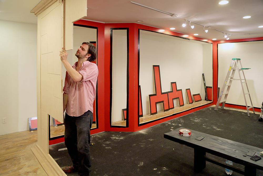 G.T. Pellizzi Mid-Installation
