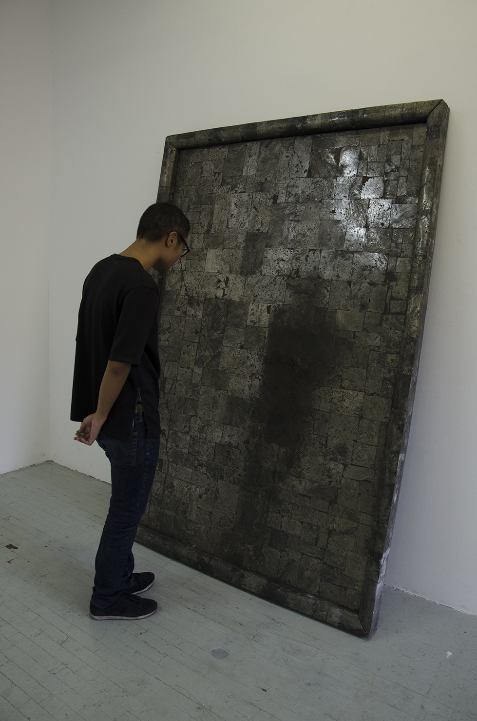 Pyrite Mirror