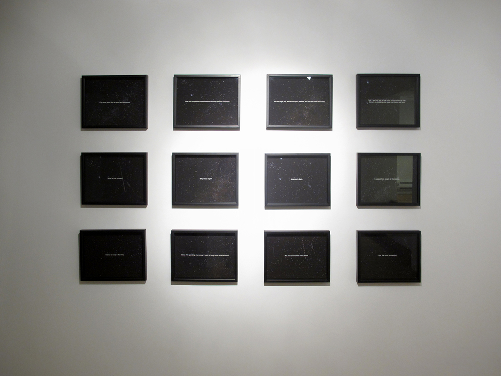 Installation View of 12