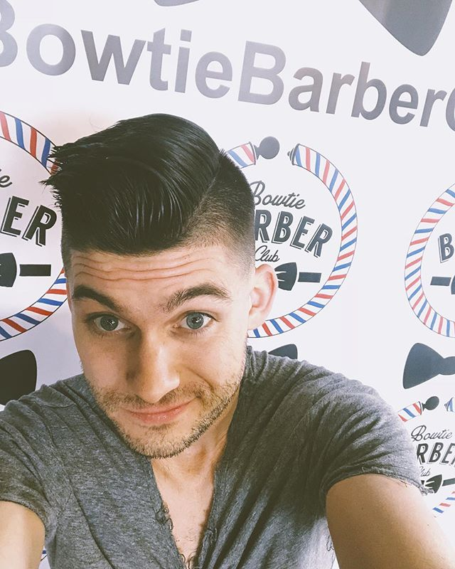 Thanks @bowtiebarberclub for the fresh cut! If you're in the Nashville I highly recommend this place! Also the coffee next door at @bowtiebaristacoffee is on point!