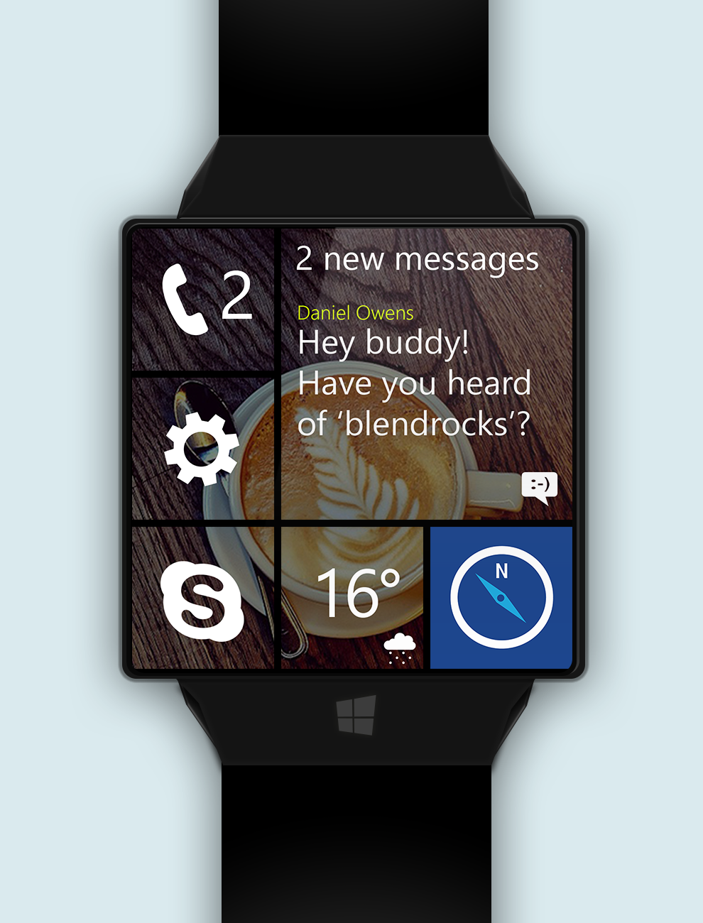 Windows_watch_messages_phone_skype_maps