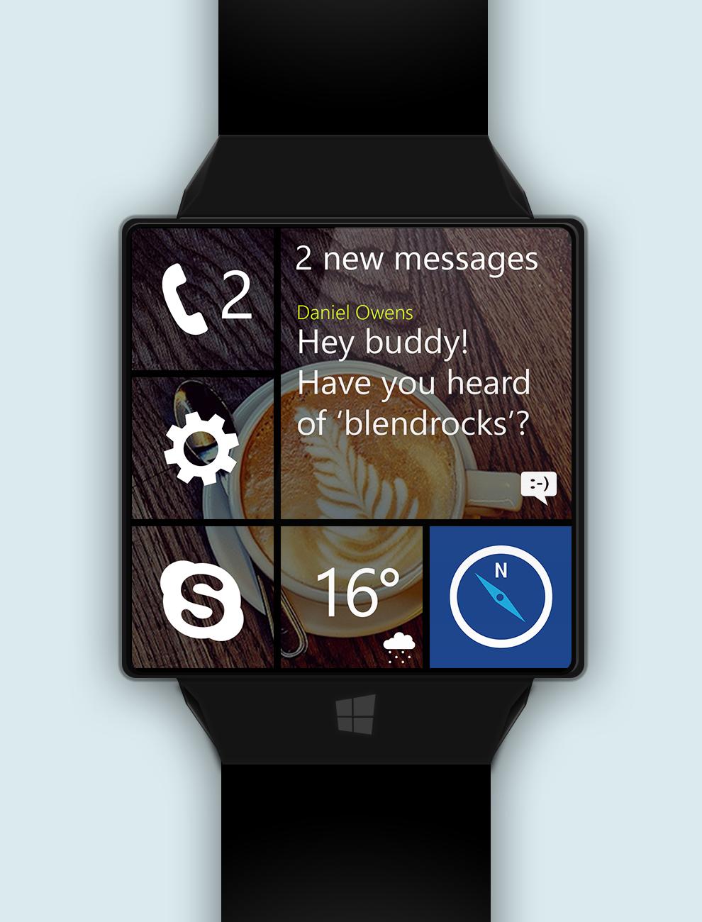 Windows_watch_messages_phone_skype_maps