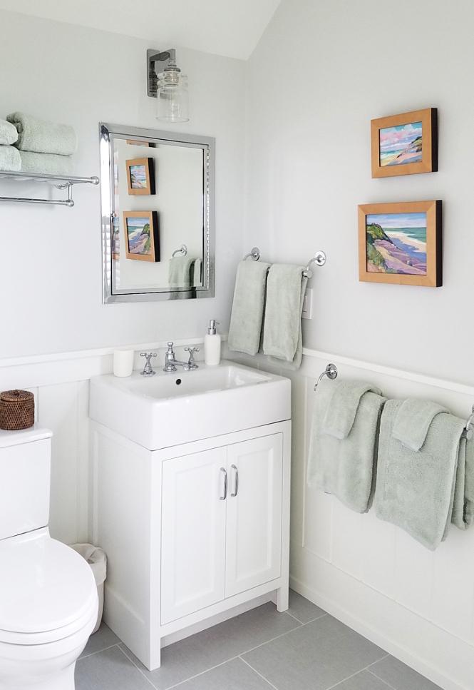 Nantucket Project, Guest Bath