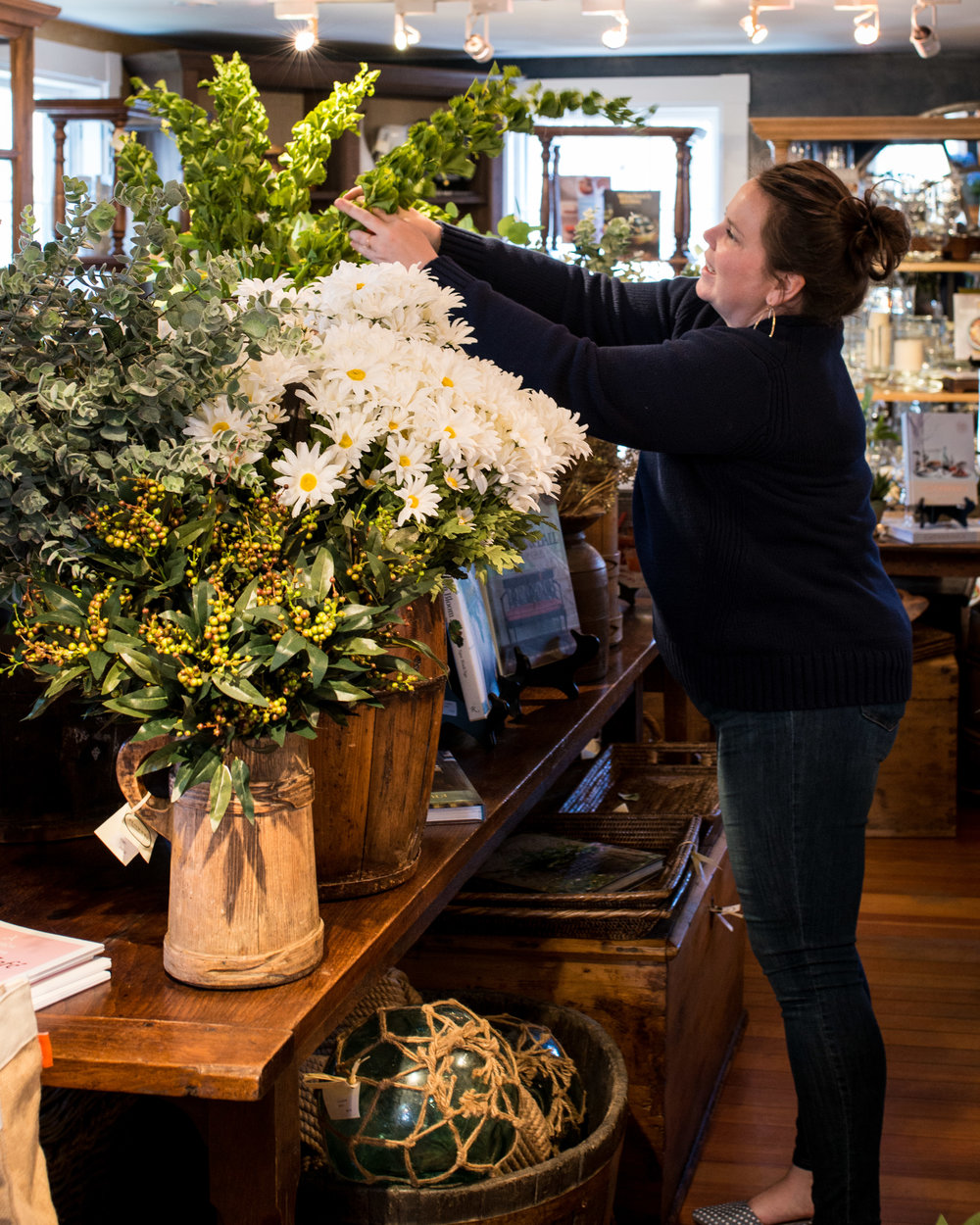 Pinney Designs Flowers on Chestnut.jpg