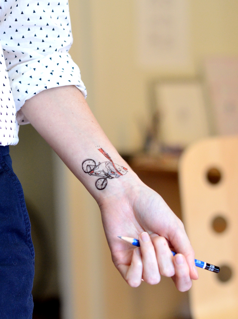 Temporary Tattoos- In collaboration with Cattoo Design- 3 new temporary tattoo designs you can enjoy without the full-time commitment (although you might wish they were permanent after wearing these sweet cats for awhile!) pictured:Coffee to Go