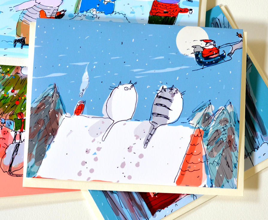 'The Believers' New Christmas cards now available!