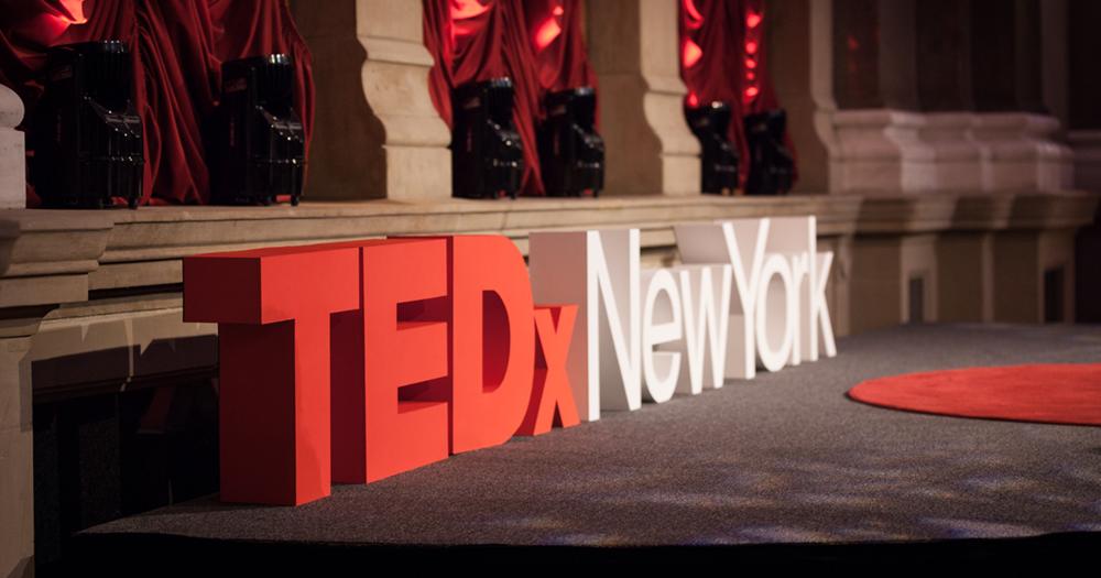 TEDxNewYorkstageletters
