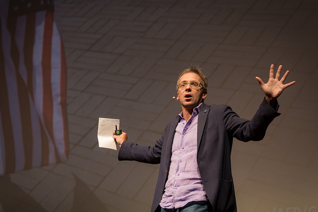 Ian Bremmer There are no more global superpowers. What happens next? Political theorist Ian Bremmer rethinks what the world looks like without one single global power. Featured on TED.com